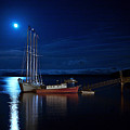 Harbor Moon by Lawrence Boothby