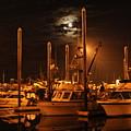 Harbor Moon by Rick  Monyahan