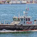 Harbor Pilot Boat Mystic by Brian MacLean