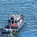 Harbor Police Patrol Boat by Richard Henne