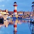 Harbor Reflections by Allissa Thompson