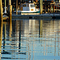 Harbor Reflections by Dianne Cowen