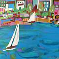 Harbor Sails by Karen Fields