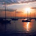 Harbor Sunrise by Crystal Nederman