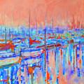 Harbor Sunrise  Eight Am by Kip Decker