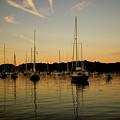 Harbor Sunset by Jack Foley