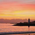 Harbor Sunset by John Finch