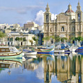 Harborside Msida Malta by Dean Wittle