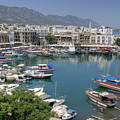 Harbour At Kyrenia by David Birchall