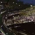 Harbour At Night by Subrata Bose