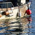 Harbour Reflections 3 - June 2015 by Susie Peek