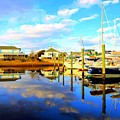 Harbour Reflections by Shelia Kempf