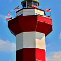 Harbour Town Lighthouse 2 by Lisa Wooten