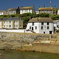 Harbourside Buildings - Porthleven by Rod Johnson