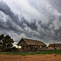 Hard Days - Abandoned Home On West Texas Plains by Southern Plains Photography