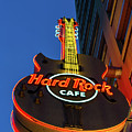 Hard Rock Guitar Detroit by Jennifer White