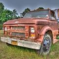 Hard Working Farm Truck by Rod Cuellar