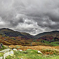 Hardknott Pass. by Angela Aird