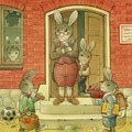 Hare School by Kestutis Kasparavicius