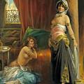 Harem Beauty by Henri Adrien Tanoux