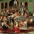 Harem Dancers by Georges-Francois Guiaud
