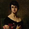 Harlamoff, Alexei 1840-1925 Female Portrait by Adam Asar