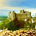 Harlech Castle by Kurt Van Wagner