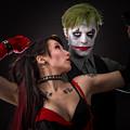 Harley And The Joker by Rikk Flohr