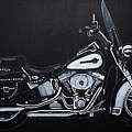 Harley Davidson Snap-on by Richard Le Page