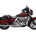 Harley-davidson Street Glide Motorcycle by Oleksiy Maksymenko