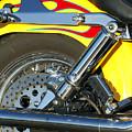 Harley-davidson Twin Cam 88 Rear Wheel by Jill Reger