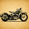 Harley Davidson Ulh 1941 by Mark Rogan