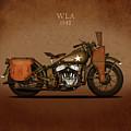 Harley Davidson WLA by Mark Rogan