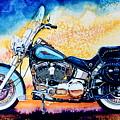 Harley Hog I by Hanne Lore Koehler