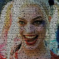 Harley Quinn Quotes Mosaic by Paul Van Scott