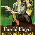 Harold Lloyd In Pistols For Breakfast 1919 by Mountain Dreams