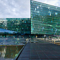Harpa Concert Hall - Iceland by Stuart Litoff