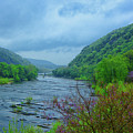 Harpers Ferry From The Shenandoah River by Raymond Salani III