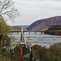 Harpers Ferry - Shenandoah Meets The Potomac by Ronald Reid