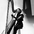 Harpist, 1935 by Granger