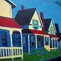 Harpswell Cottages by Debra Bretton Robinson