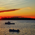 Harpswell Sunset by John Kenealy