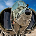 Harrier Ground Attack Jet Airplane by Jake Steele