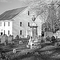 Harrington Meetinghouse -bristol Me Usa by Erin Paul Donovan