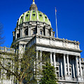 Harrisburg Capitol Building by Olivier Le Queinec