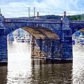 Harrisburg Pa - Market Street Bridge by Susan Savad