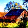 Harrison Barn by Kathy Tarochione