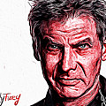 Harrison Ford by Gene Spino