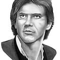 Harrison Ford - Hans Solo by Murphy Elliott
