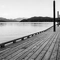Harrison Lake Pier, Bc by John McArthur